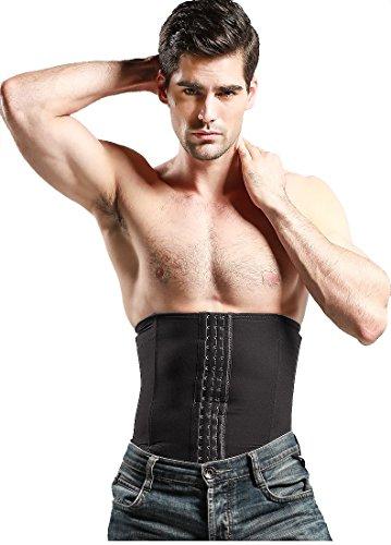 KYDJ Taille Trimmer Korsett für Männer Frauen mit niedrigeren Zurück & Lordosenstützen Kompression Body Shaper