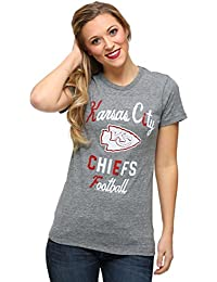 Junk Food Womens Kansas City Chiefs Touchdown Tri-Blend T-Shirt