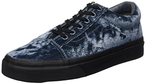 Vans Damen Old Skool Seasonal Sneaker, Grau (Velvet/ Gray/Black), 36 EU