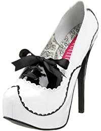 Pleaser EU-TEEZE-01 - Zapatos de tacón de material sintético mujer