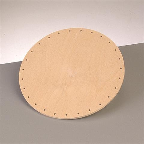 Boden für Peddigrohr, Korbflechtboden Ø 22 cm, MDF gebohrt