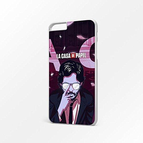 Funda del móvil caso La Casa De Papel El Professor - protectora carcasa de teléfono para iPhone X 8 8+ 7 7+ 6S 6 6S+ 6+ 5 5S 5SE 4S 4
