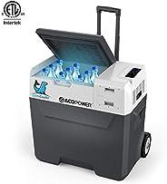 ACOPOWER Outdoor Solar Freezer and Cooler, Fridge -20°C 15/30/40/50-Liter, Solar/AC/Car Charging