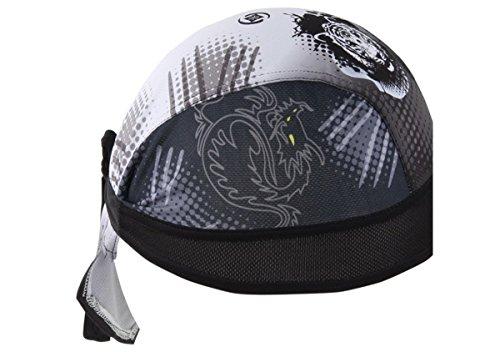 Imagen de ahatech deportes headwear secado rápido sol protección uv ciclismo bandana running gorro bicicleta motocicleta casco de bajo de calavera alternativa