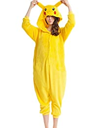 Wealsex Pijamas Unisexo Adulto Traje Disfraz Animal Adulto Animal Pyjamas Cosplay