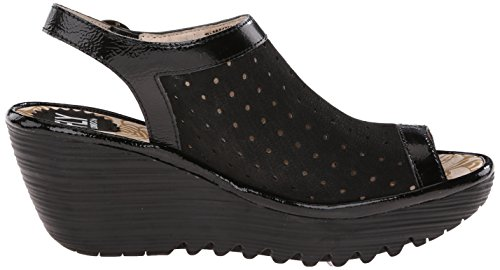 Fly London Yile Black/Black/Black Sandals Black/Black/Black