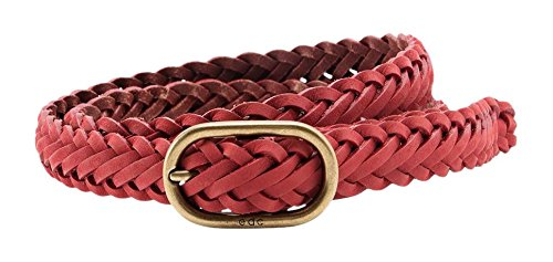 edc by Esprit 056ca1s006-High-Quality Leather, Ceinture Femme Rose - Rosa (PINK FUCHSIA 660)