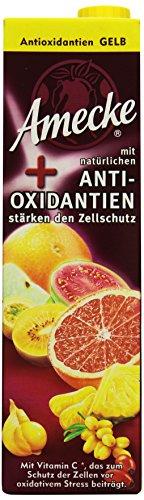 Amecke +  Natürliche Antioxidantien Gelb - 100%, 6er Pack (6 x 1 l)