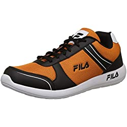 Fila Men's Sunro Psm Org/Blk Running Shoes