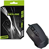 Qwerty Keys Sleek Modern USB Wired Optical 3D Mouse 800 Dpi, Scroll Wheel Compatible All Versions Windows And Mac