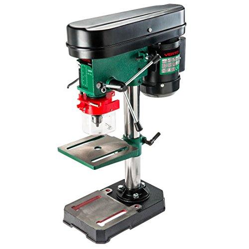 Preisvergleich Produktbild Bohrmaschine auf Säule Arbeitsplatte höhenverstellbar und neigbar, Schutz Bohrfutter Teleskop. A 5Geschwindigkeit. Abmessungen cm. 40x 18,5x H58.