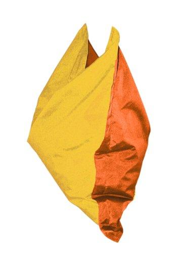 "Kinzler K-11271/06 Sitzsack ""Small Chilli"" 90x140 cm, orange-maisgelb"