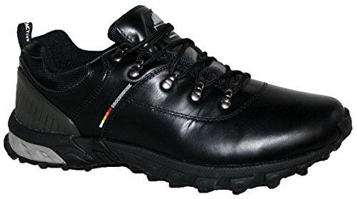 Groundwork Scarponcini da Camminata ed Escursionismo Uomo Black