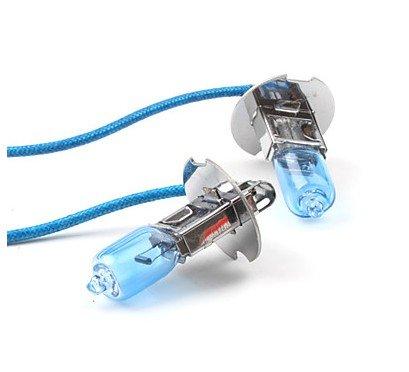 2x Stück H3 55W 12V Xenon Optik mit echtem Xenon-Gas gefüllt Halogen Lampen Glühlampen Super White Birnen Autolampen INION® Zugelassen im Bereich der StVZO -