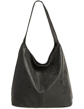CASPAR TS1015 Damen Vintage Schultertasche