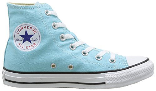 Converse All Star Hi Canvas Seasonal, Sneaker, Unisex Verde (Poolside)