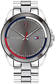 Tommy Hilfiger Mens Analogue Quartz Watch Riley with Stainless Steel Band