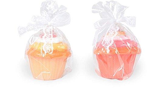 AVENUELAFAYETTE Lot de 2 Bougies Cupcake (M2)