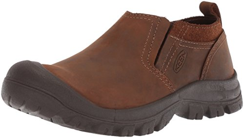 KEEN Men's Grayson Slip-on-M Sandal, Mid Brown/Scylum, 9.5 M US