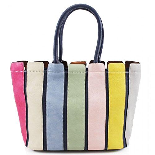 Vendita da donna Michael Kors designer Style Studded Bucket bag–borsetta da donna Pixie Blue