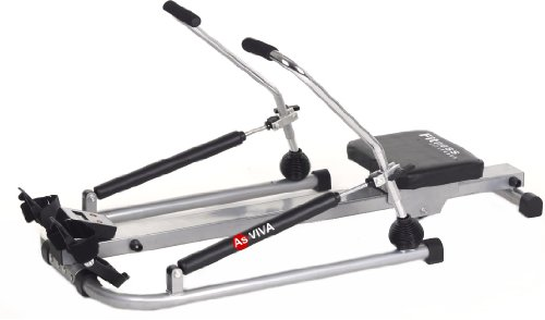 AsVIVA RA1 - Máquina de remo cardio I unisex