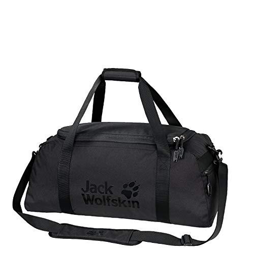 Jack Wolfskin Action Bag 45 Umhängetasche, Black, ONE Size -