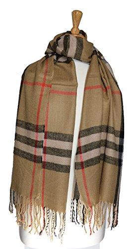 large-soft-designer-check-style-plaid-scarf-beige