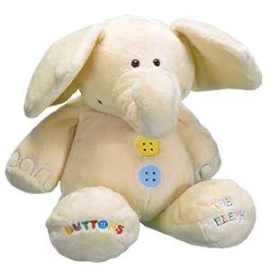 Buttons - Elefante de Peluche (Humatt 61203)