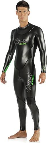 Cressi Men Triton All-In-One Swim Wetsuit 1.5mm - Premium Neoprene Swimming Suit