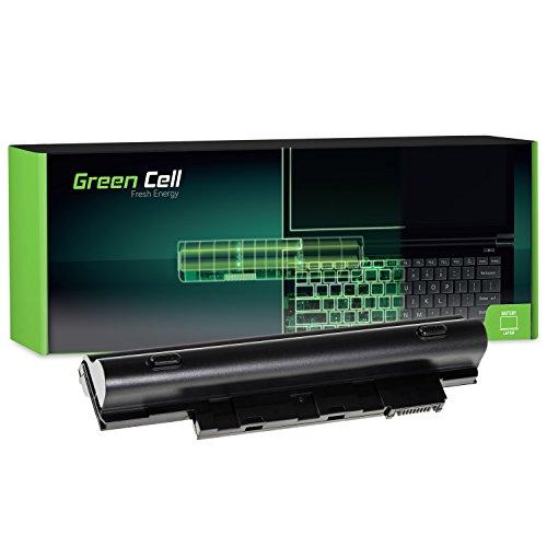 Green Cell® AL10A31 AL10B31 AL10G31 Laptop Akku für Acer Aspire One 522 722 D255 D257 D260 D270 (6 Zellen 4400mAh 11.1V Schwarz) (Batterien Für Acer Aspire One 722)