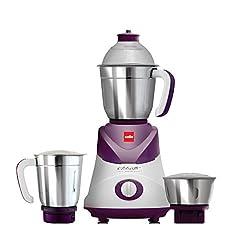 Cello Swift 3 Jar Mixer Grinder 500 W , Violet
