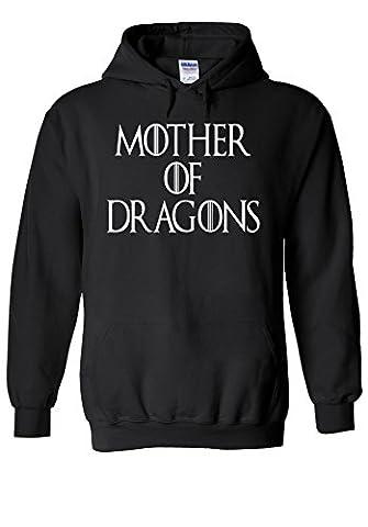 Mother of Dragons Maternity Twin Novelty Black Femme Homme Men