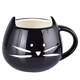 Aardvark Art Schön Neizende Katzen Tasse Becher Kätzchen Kaffee Tasse Tee Tasse Kaffeetasse (Black)
