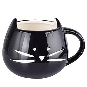 gatito: Cisixin Lindo Gatito Taza de Café de Cerámica Taza de Porcelana de Agua/Té / Lec...