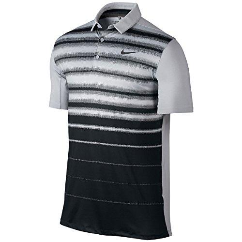 Nike Mobility Fade Stripe - Polo Herren, Farbe gris (wolf grey / wolf grey / anthracite)