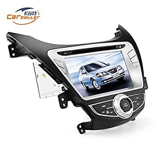 7-inch 2 Din TFT Screen In-Dash Car DVD Player For Hyundai Elantra With Bluetooth,Navigation-Read GPS,iPod-Input,RDS,TV