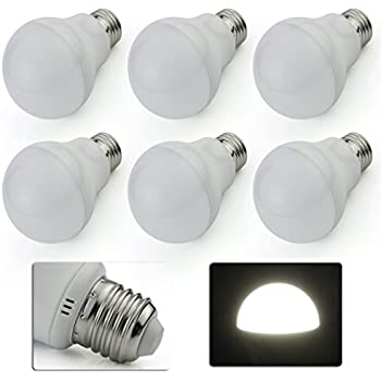 Ampoule E27 LED 7W Blanc Froid 6000 Kelvin 800lm remplacer