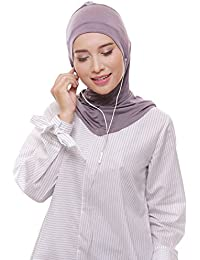 ATTIQA - Pañuelo para la cabeza - para mujer Gris gris claro Talla única