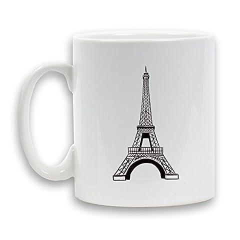 Tour Eiffel Conçu Tasse 30cl en céramique cadeau Design Fantaisie