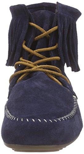 Marc Shoes Damen Luna Mokassin Stiefel Blau (navy 795)