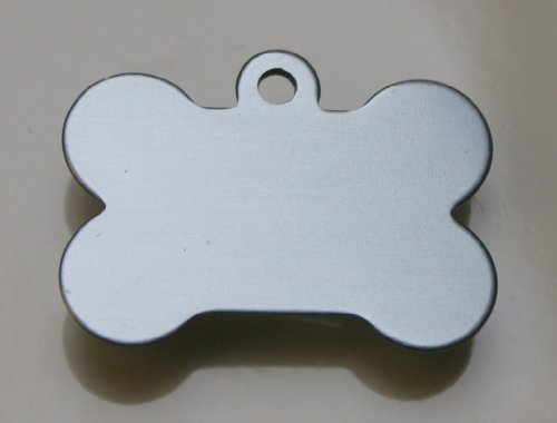 bone-shaped-pet-tags-38mm-wide-9-colours-to-choose-from-free-engraving-silver