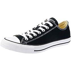 Converse Chuck Taylor All Star Ox, Zapatillas Unisex adulto, Negro (Black/White), 40 EU