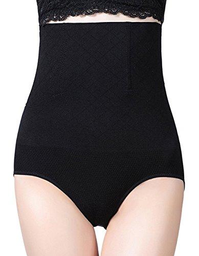 AMAGGIGO Shapewear - Braga Faja Reductora y Moldeadora Invisible para Mujer (M/L 2=M (Fits Waist 26-30 Inch), Negro-A)