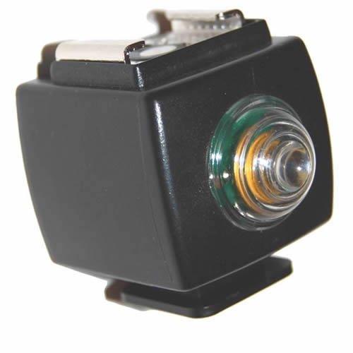 DynaSun PSS03 Trigger Ottico Adattatore Universale con Fotocellula di Sincronizzazione Wireless Integrata, Nero