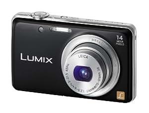 """Panasonic Lumix DMC-FS40EG-K Appareil photo numérique 14 mégapixels, zoom optique 5 x, écran 6,7 cm (2,6""""), grand angle 24 mm, stabilisateur d'image (Noir) (Import Allemagne)"""