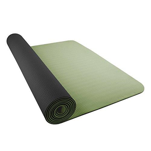 Nike Yoga Matte Just do it 2, schwarz/grün, N.YE.23.008.OS ...