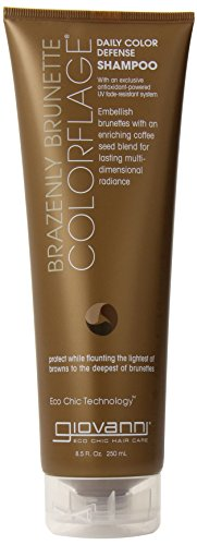 Giovanni Daily Color Defense Shampoo, Brazenly Brunette, 8.5-Ounce (Pack of 4) by Giovanni (English Manual)