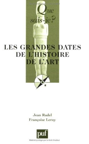 Les Grandes Dates de l'histoire de l'art