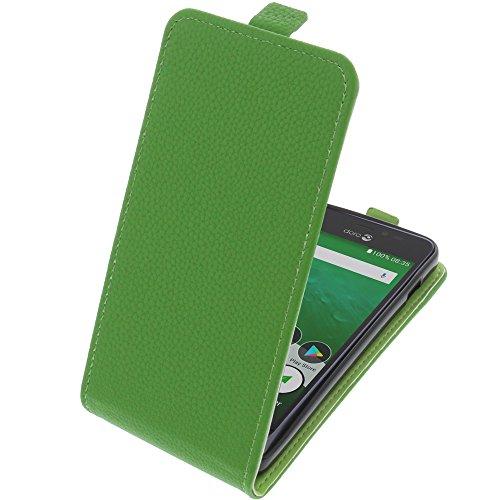 Tasche für Doro 8035 Smartphone Flipstyle Schutz Hülle grün