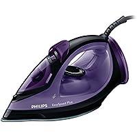 Philips GC2048/80 Easy Speed Plus - Plancha de vapor, 2300 W, vapor 35-120 g, color negro y morado